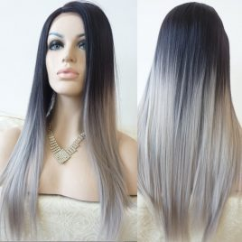 Brazilian hair-Grey